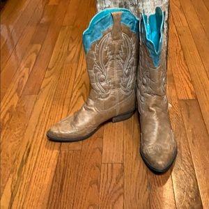 Coconuts Cowboy boots US8M